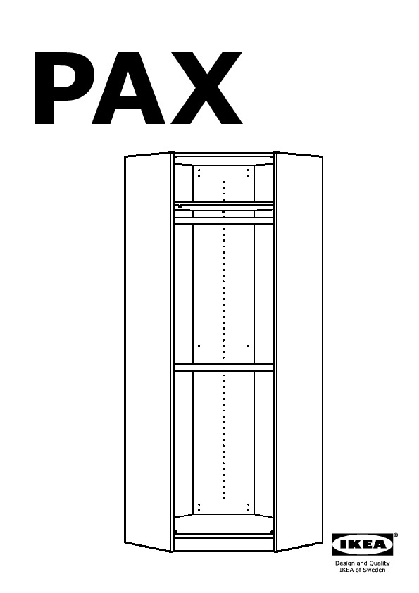 assembly instructions for pax robe