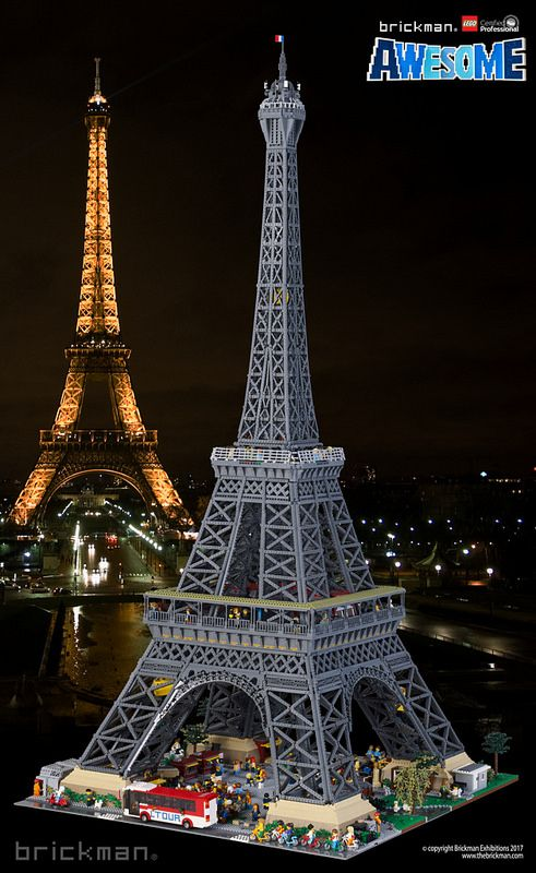 lego architecture eiffel tower building instructions