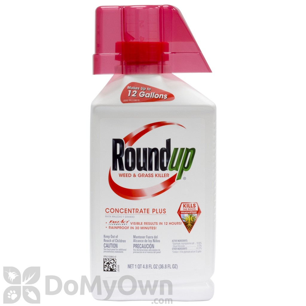 roundup concentrate plus mixing instructions