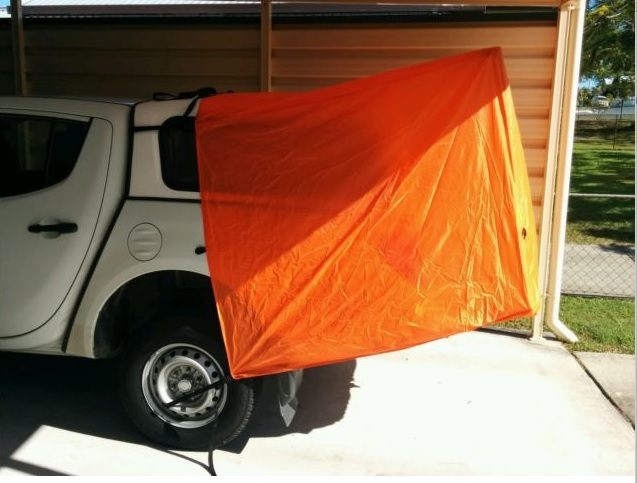 ute canopy fitting instructions