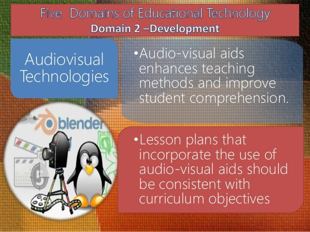 instructional technology and audio visual aids