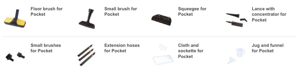 polti pocket steam cleaner instructions