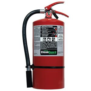 fire suppression recharge instructions