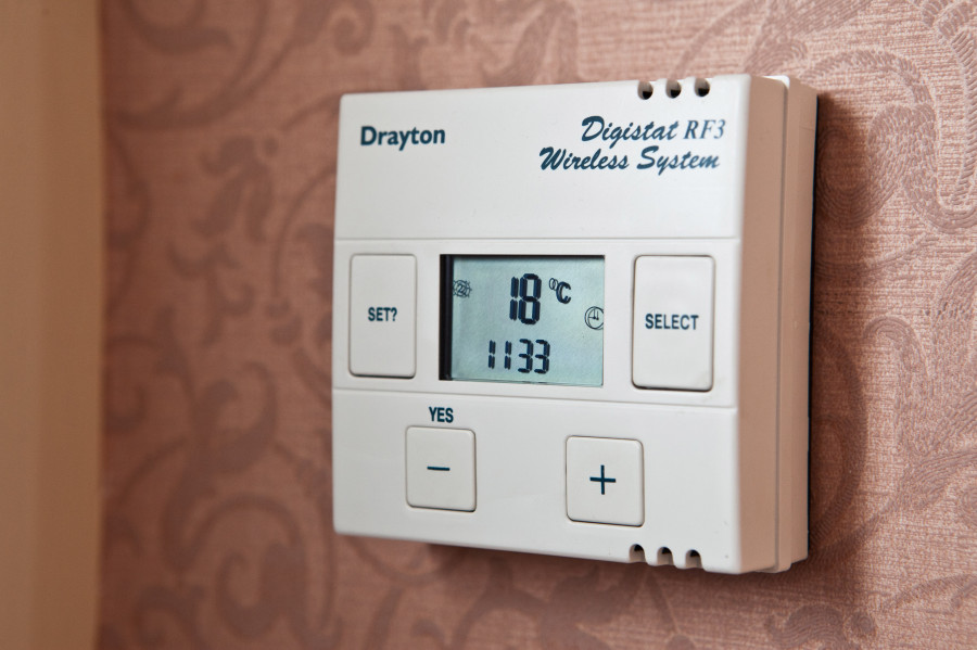 central heating controls instructions