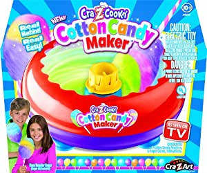 cra z cookn cotton candy instructions