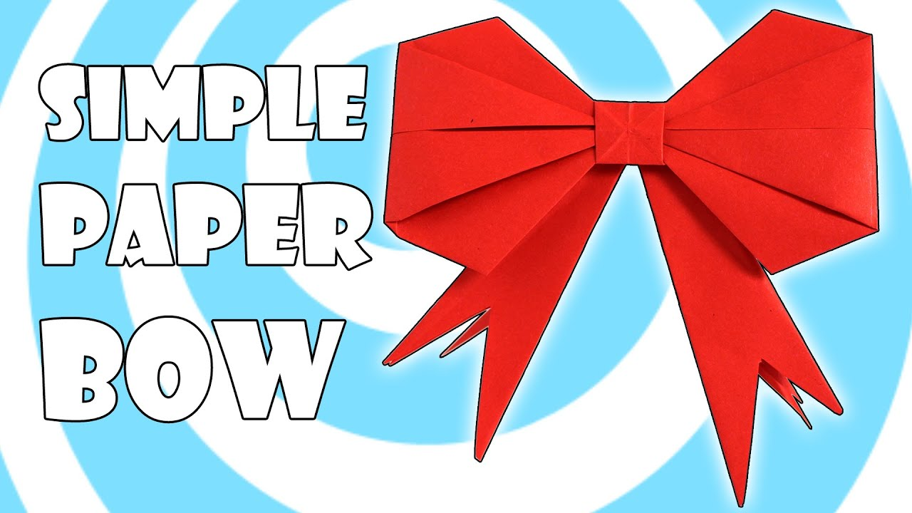 easy bow maker instructions