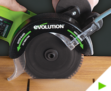 evolution fury 6 table saw instructions
