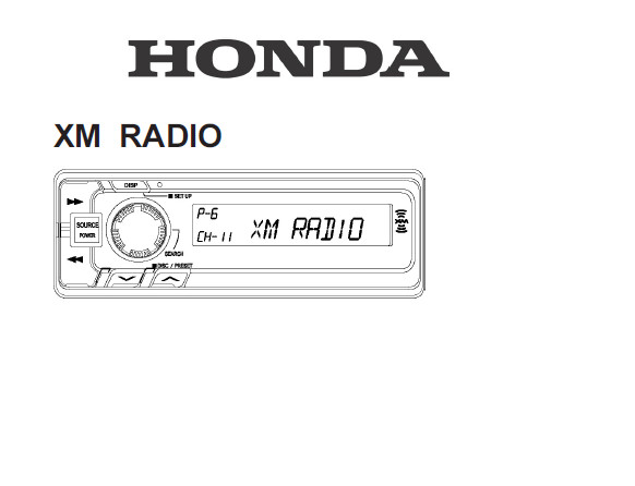 operating instructions for a tp3659 radio