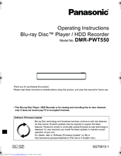 operating instructions for dmr pwt560gn